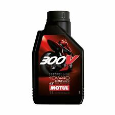 Motul 300V 4T Factory Line 10W-40 Road Racing Engine Oil Ester Synthetic 1 Litre