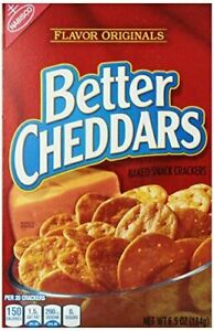 Nabisco Better Cheddars Baked Snack Crackers