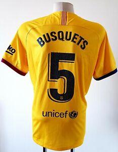 Barcelona 2019 - 2020 Away football Nike shirt #5 Busquets