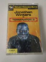 Jonathan Winters is TERMINATOR 3 cassette Tape impr. Robin Williams Groucho Marx