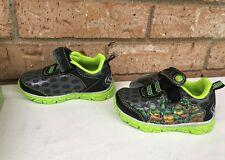 Teenage Mutant Ninja Turtles Light up Tennis Shoes Kids Boys Size 6 New in Box