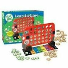 Leap Frog PreK learning lot Math Mission Puzzle + Line Up Game NEW!