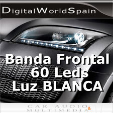 TIRA DE 60 LED FRONTALES 60CM.LUZ DIURNA DAYLIGHT A 12V