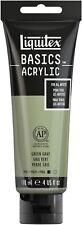 Liquitex BASICS Acrylic Paint 4oz-Green Gray