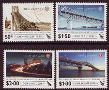 Nueva Zelanda 2009 50º Aniversario Aukland Harbour Bridge Fine Used.