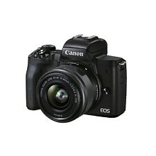 Canon EOS M50 Mark II Mirrorless Camera with EF-M 15-45mm f/3.5-6.3 IS STM Zoom