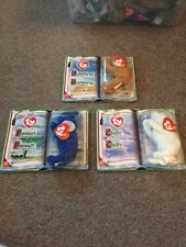TY Teenie Beanie Baby Legends Boxed, Trio, Peanut Chilly And Humphrey