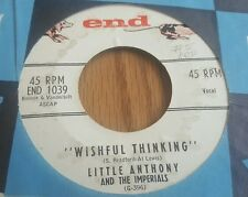 Little Anthony And The Imperials ‎– Wishful Thinking / When You Wish Upon A Star