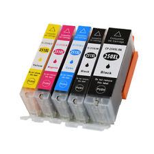 5 INK NON-OEM CANON PGI-250 XL CLI-251 XL MG7120 MG7520 IP8720 IP7220 MG5420