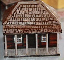 Hand crafted model house suit train sets House B Australian Miners  cottage  B