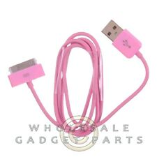 Apple iPhone 4/i4S Data Cable Pink Sync USB Charger Cord Transfer Connector Plug
