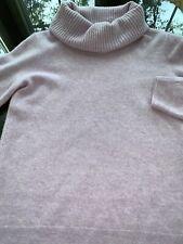 Lavender Nordstrom  TurtleNeck Long Sleeve Cashmere Sweater Ladies Sz Small