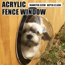 Pet Dog Fence Window Fence Bubble Dome Acrylic Dogs Supplies Garden Supplies