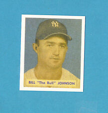 1949 Bowman Reprint #129 Bill The Bull Johnson Card - New York Yankees