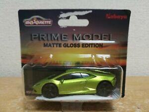 Majorette mini car Prime Model MATTE GLOSS EDITION Lamborghini Huracan figure