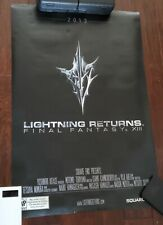 Lightning Returns Final Fantasy XIII Official Promo Movie Style Poster RARE