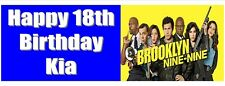 BROOKLYN NINE-NINE 3ft party personalised birthday banners  X2 celebration