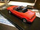 VOLVO 480 Cabrio Cabriolet red rot 1990 PremiumX IXO 1:43