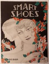October 1928 Smart Shoes 48 Page Antique Fashion Shoe Catalog