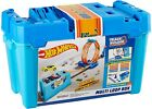 Hot Wheels-Playset Multi Loop Track Builder With 9 10/12ft Of for Creating Perc