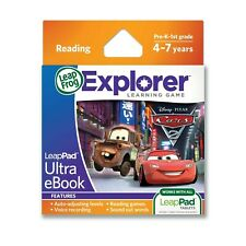 LeapFrog LeapPad Reading Educational Game e Cartridge Book Disney Pixar Cars 2