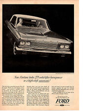 1965 FORD FAIRLANE 289/271 HP ~ ORIGINAL PRINT AD