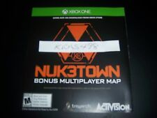 CALL OF DUTY III 3 Xbox One 1 DLC CODE - NUKETOWN Add-on - No Game Included