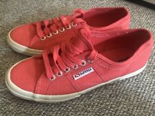 Brand New Superga Canvas Sneakers size 39 in Coral