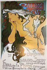 Alphonse Mucha, Salon des Cent, Offset lithograph