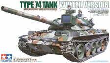 TAMIYA 35168 JGSDF Type 74 Winter Tank Version 1:35