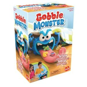 Gobble Monster Hungry Action Game for Kids 2-4 Players 4+ Moving Tongue Grab Toy