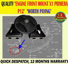 FRONT ENGINE SUPPORT MOUNT MOUNTING FITS PRIMERA 1.6 1.8 2001-2006 P12 MODELS
