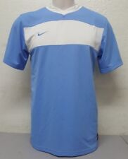 Authentic Nike Apparel Light Blue And White Jersey Size M Short Sleeve