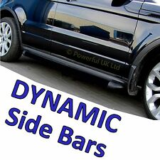 "Range Rover Evoque ""black pack"" side bars for DYNAMIC model tubes step VB"