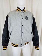Rare Vintage Disney Fleece Satin Epcot Center Bomber Jacket L Character Fashions