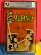 Marvel Comics NEW MUTANTS# 26  CGC 9.0 ! 1st LEGION ! x-men