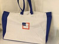 JC PENNEY JCP REUSABLE LOGO LARGE CANVAS SHOPPING TOTE NWOT