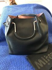 Mimco Flip Side Tote / Large / Black And Rose Gold / As New