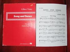 Clarinet Grade 4 music Glibert Vinter First Song from Song and dance