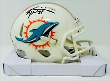 Ricky Williams Signed Miami Dolphins Speed Mini JSA Authenticated