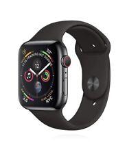 Apple Watch Series 4 44mm Space Black Stainless Steel Sport Band & Milanese Loop