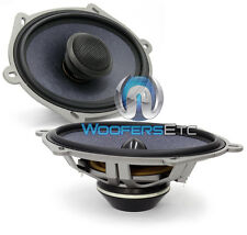 "XS-57 IMAGE DYNAMICS 5x7"" 6x8"" 2-WAY COMPONENT SPEAKERS MIDS TWEETERS CROSSOVERS"