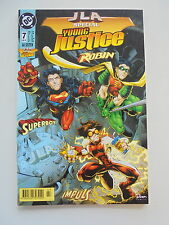 JLA Special - Young Justice Robin Nr.7 (1999) Dino Verlag Zustand 1-2
