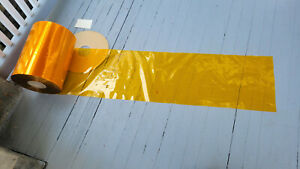 Cellophane Rolls Deep Yellow Plastic Wrap 62lb 0.9mil XSC Food Grade