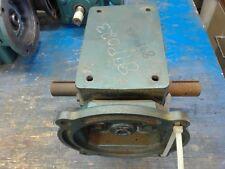 Grove Gear, Bmq224-1, 10:1 Ratio Left/Right Angle Gear Reducer, Input Hp 3.083