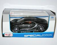 Maisto - BUGATTI CHIRON (Grey) Model Scale 1:24