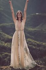 NEW Free People Queen Of The Sun Maxi Dress Size 0 XS
