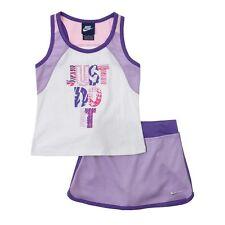 NIKE Girls Tank Top Scooter 2 Piece Set Shirt Top Skort Skirt NWT 2T Shorts Play