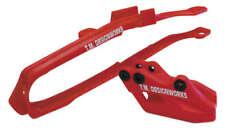 TM Designworks GP Motocross Slide-N-Guide Kit Red Yamaha YZ125 YZ250 YZ450F