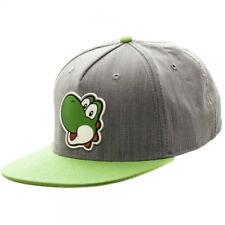 Super Mario Bros. Yoshi Ruber Sonic Weld Snapback Baseball Cap